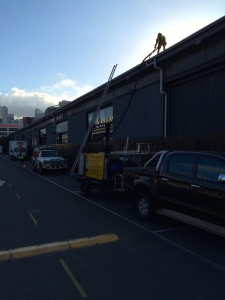 Large factories Cleaning