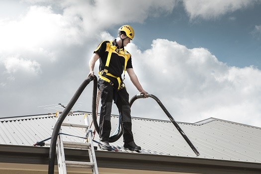 Multi Level Gutter Cleaning