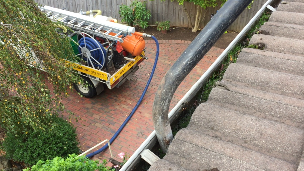 Gutter Cleaning Process Ozwide Gutter Vacuuming